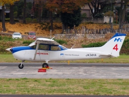 FT51ANさんが、ホンダエアポートで撮影した本田航空 172S Skyhawk SPの航空フォト(飛行機 写真・画像)
