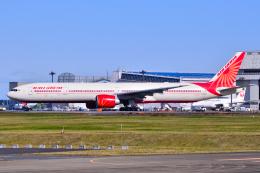 フリューゲルさんが、成田国際空港で撮影したエア・インディア 777-337/ERの航空フォト(飛行機 写真・画像)