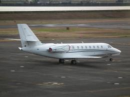 ヒコーキグモさんが、岡南飛行場で撮影したノエビア 680 Citation Sovereignの航空フォト(飛行機 写真・画像)