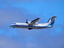 むらさめさんが、新千歳空港で撮影した海上保安庁 DHC-8-315Q MPAの航空フォト(飛行機 写真・画像)