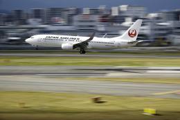 planetさんが、福岡空港で撮影した日本航空 737-846の航空フォト(飛行機 写真・画像)