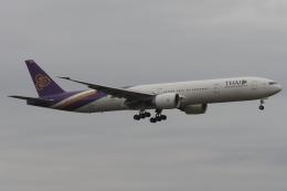 木人さんが、成田国際空港で撮影したタイ国際航空 777-3D7/ERの航空フォト(飛行機 写真・画像)