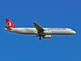 spottingvehicleさんが、イスタンブール空港で撮影したターキッシュ・エアラインズ A321-231の航空フォト(飛行機 写真・画像)