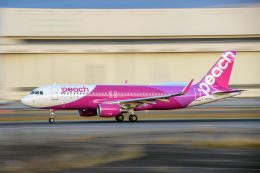 Foxfireさんが、成田国際空港で撮影したピーチ A320-214の航空フォト(飛行機 写真・画像)