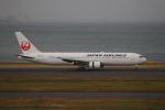 乙事さんが、羽田空港で撮影した日本航空 767-346/ERの航空フォト(飛行機 写真・画像)