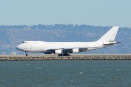 小弦さんが、サンフランシスコ国際空港で撮影したアトラス航空 747-4KZF/SCDの航空フォト(飛行機 写真・画像)