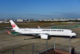 T.Sazenさんが、福岡空港で撮影した日本航空 A350-941の航空フォト(飛行機 写真・画像)