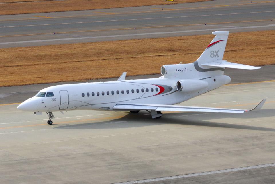 yabyanさんのダッソー・アビエーション Dassault Falcon 8X (F-HVIP) 航空フォト