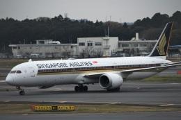 エルさんが、成田国際空港で撮影したシンガポール航空 787-10の航空フォト(飛行機 写真・画像)