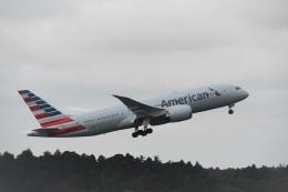 エルさんが、成田国際空港で撮影したアメリカン航空 787-8 Dreamlinerの航空フォト(飛行機 写真・画像)