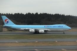 エルさんが、成田国際空港で撮影した大韓航空 747-8HTFの航空フォト(飛行機 写真・画像)