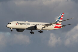 utarou on NRTさんが、成田国際空港で撮影したアメリカン航空 787-9の航空フォト(飛行機 写真・画像)