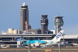 mahiちゃんさんが、成田国際空港で撮影した全日空 A380-841の航空フォト(飛行機 写真・画像)