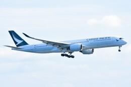 M.Tさんが、関西国際空港で撮影したキャセイパシフィック航空 A350-941の航空フォト(飛行機 写真・画像)