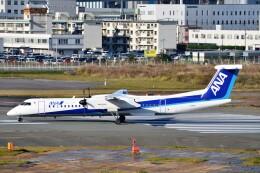 T.Sazenさんが、福岡空港で撮影したANAウイングス DHC-8-402Q Dash 8の航空フォト(飛行機 写真・画像)