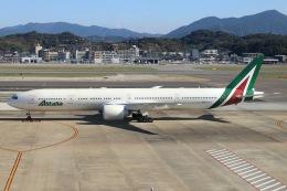 福岡空港 - Fukuoka Airport [FUK/RJFF]で撮影されたアリタリア航空 - Alitalia [AZ/AZA]の航空機写真