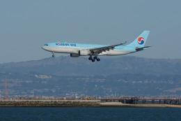小弦さんが、サンフランシスコ国際空港で撮影した大韓航空 A330-223の航空フォト(飛行機 写真・画像)