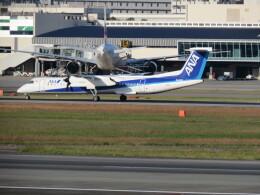 F.YUKIHIDEさんが、伊丹空港で撮影したANAウイングス DHC-8-402Q Dash 8の航空フォト(飛行機 写真・画像)