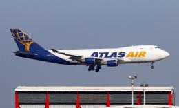 Asamaさんが、香港国際空港で撮影したアトラス航空 747-47UF/SCDの航空フォト(飛行機 写真・画像)