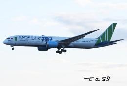 tassさんが、成田国際空港で撮影したバンブー・エアウェイズ 787-9の航空フォト(飛行機 写真・画像)