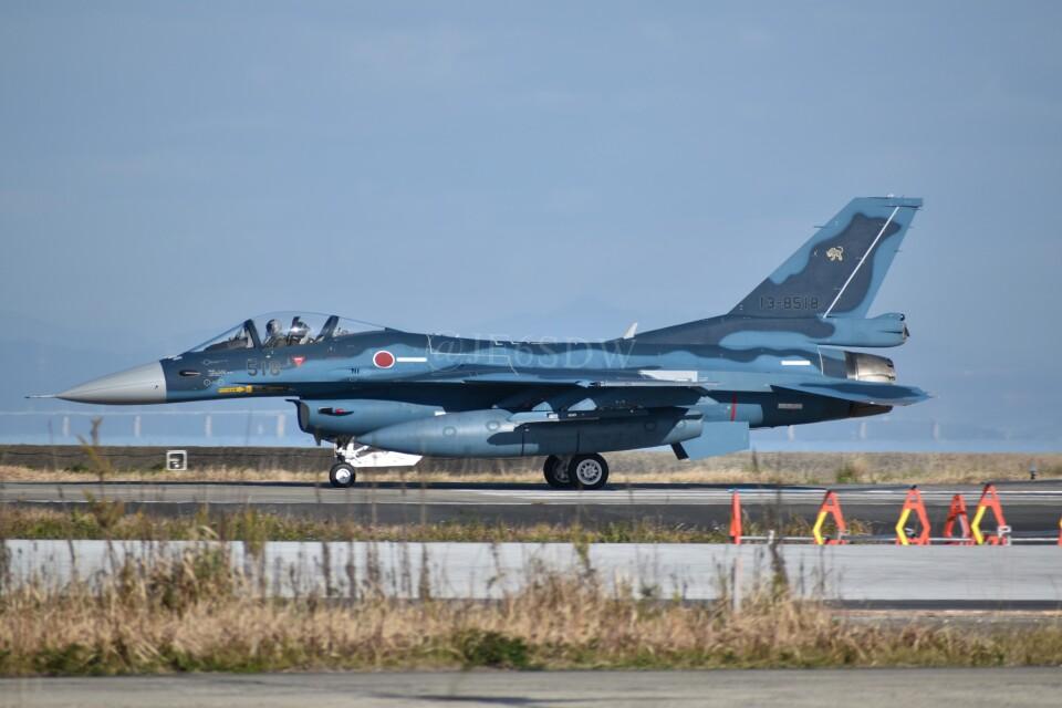 JE6SDWさんの航空自衛隊 Mitsubishi F-2A (13-8518) 航空フォト