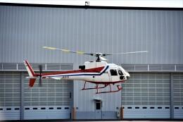 MSN/PFさんが、奈多ヘリポートで撮影した西日本空輸 AS350BA Ecureuilの航空フォト(飛行機 写真・画像)
