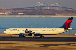 kikiさんが、羽田空港で撮影したデルタ航空 A330-302の航空フォト(飛行機 写真・画像)