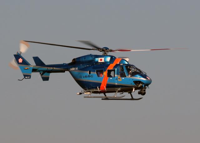 tuckerさんが、入間飛行場で撮影した埼玉県警察 BK117C-1の航空フォト(飛行機 写真・画像)