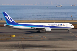 やつはしさんが、羽田空港で撮影したエアージャパン 767-381/ERの航空フォト(飛行機 写真・画像)