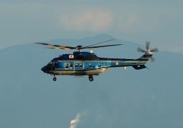 LOTUSさんが、神戸空港で撮影したエアバス・ヘリコプターズ・ジャパン AS332L1 Super Pumaの航空フォト(飛行機 写真・画像)