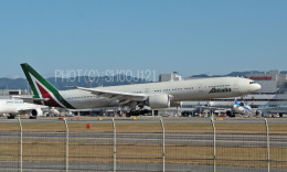 SH60J121さんが、福岡空港で撮影したアリタリア航空 777-3Q8/ERの航空フォト(飛行機 写真・画像)
