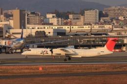 Hiro-hiroさんが、伊丹空港で撮影した日本エアコミューター DHC-8-402Q Dash 8の航空フォト(飛行機 写真・画像)