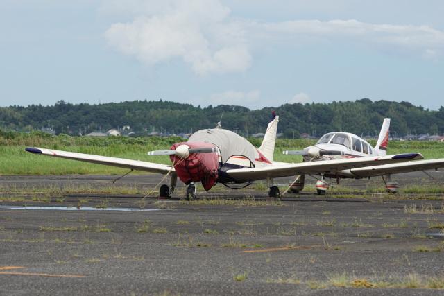 神宮寺ももさんが、龍ケ崎飛行場で撮影した日本法人所有 PA-28-181 Archer IIの航空フォト(飛行機 写真・画像)