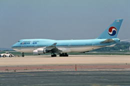 Gambardierさんが、岡山空港で撮影した大韓航空 747-4B5の航空フォト(飛行機 写真・画像)