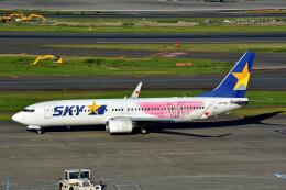 サンドバンクさんが、羽田空港で撮影したスカイマーク 737-86Nの航空フォト(飛行機 写真・画像)