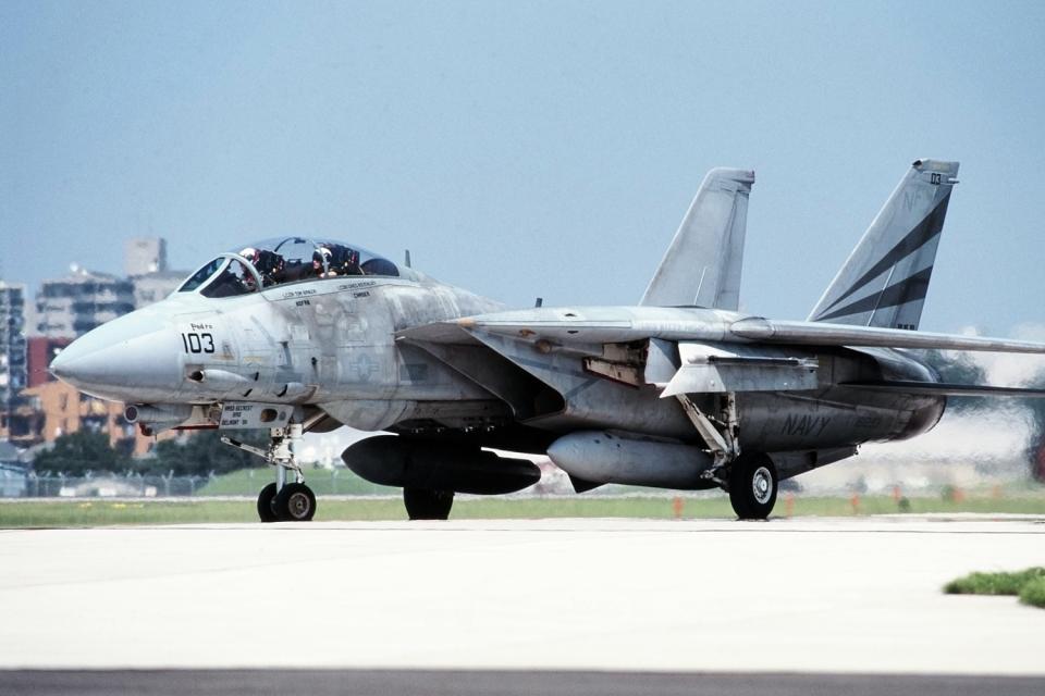 wetwingさんのアメリカ海軍 Grumman F-14 Tomcat (161293) 航空フォト
