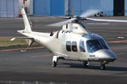 ゴンタさんが、東京ヘリポートで撮影した日本法人所有 AW109SPの航空フォト(飛行機 写真・画像)
