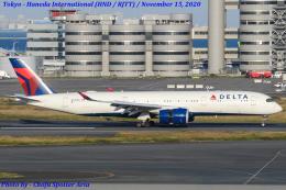 Chofu Spotter Ariaさんが、羽田空港で撮影したデルタ航空 A350-941の航空フォト(飛行機 写真・画像)