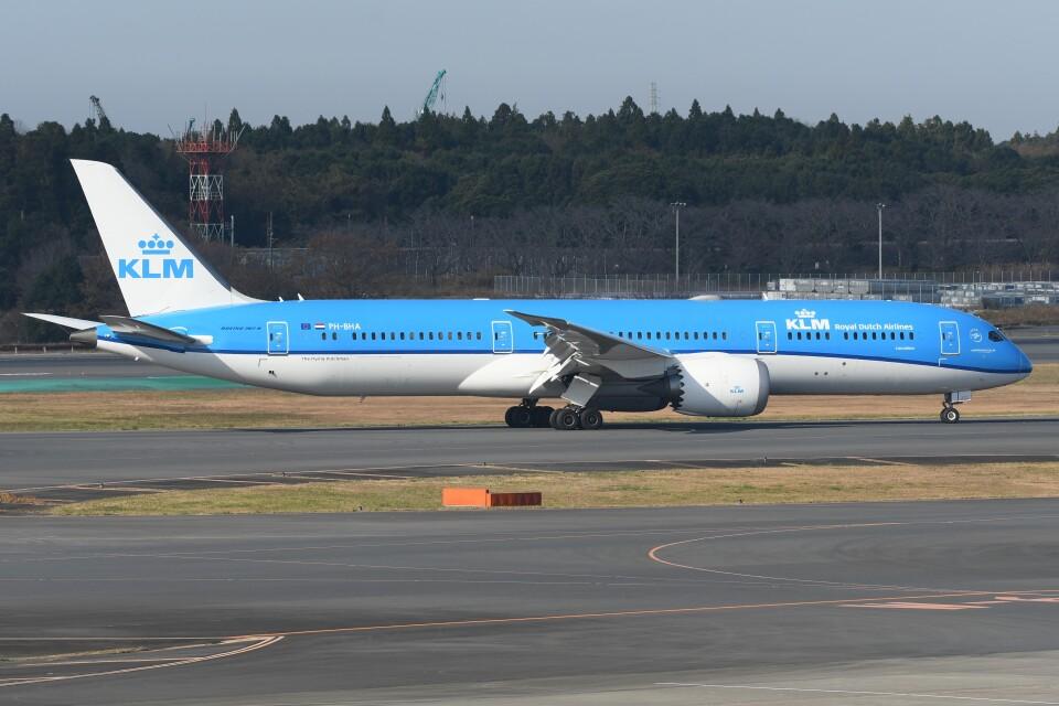 N.tomoさんのKLMオランダ航空 Boeing 787-9 (PH-BHA) 航空フォト