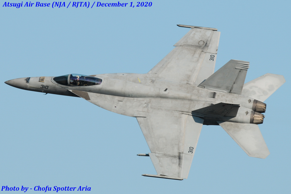 Chofu Spotter Ariaさんのアメリカ海軍 Boeing F/A-18 (166868) 航空フォト