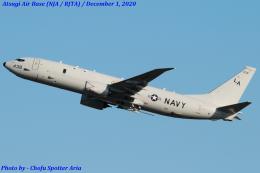 Chofu Spotter Ariaさんが、厚木飛行場で撮影したアメリカ海軍 P-8A (737-8FV)の航空フォト(飛行機 写真・画像)