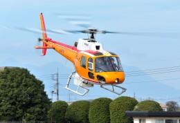 パンサーRP21さんが、群馬ヘリポートで撮影した東邦航空 AS350B Ecureuilの航空フォト(飛行機 写真・画像)