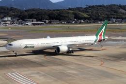 kan787allさんが、福岡空港で撮影したアリタリア航空 777-3Q8/ERの航空フォト(飛行機 写真・画像)