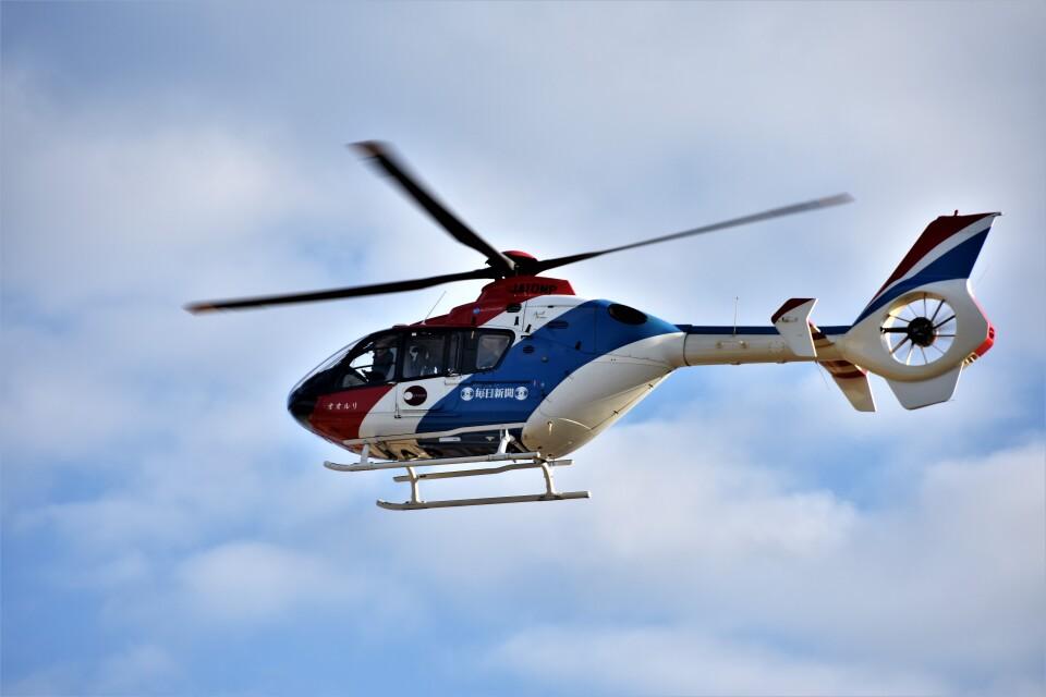 MSN/PFさんの毎日新聞社 Eurocopter EC135/635 (JA10MP) 航空フォト