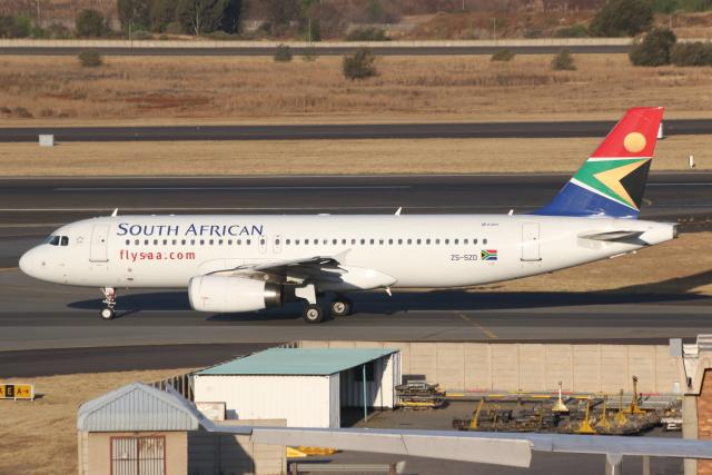2019年09月12日に撮影された南アフリカ航空の航空機写真