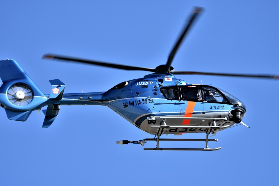 MSN/PFさんの福岡県警察 Eurocopter EC135/635 (JA02FP) 航空フォト