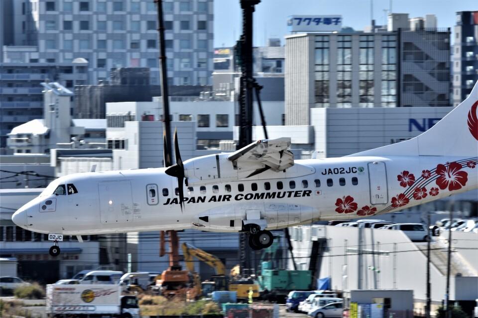 MSN/PFさんの日本エアコミューター ATR 42 (JA02JC) 航空フォト