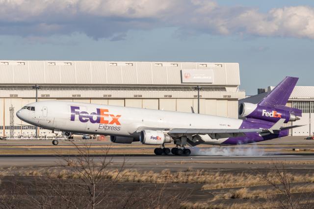 Y-Kenzoさんが、成田国際空港で撮影したフェデックス・エクスプレス MD-11Fの航空フォト(飛行機 写真・画像)