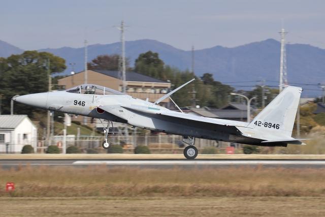 Hii82さんが、名古屋飛行場で撮影した航空自衛隊 F-15J Eagleの航空フォト(飛行機 写真・画像)