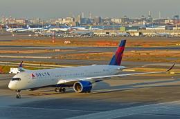 Souma2005さんが、羽田空港で撮影したデルタ航空 A350-941の航空フォト(飛行機 写真・画像)